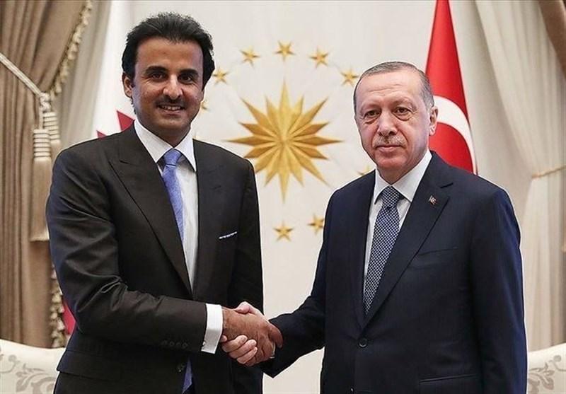امیر قطر وارد ترکیه شد
