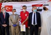توزیع گوشت قربانی در شمال عراق توسط هلال احمر ترکیه