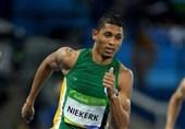 قهرمان دوی 400 متر المپیک کرونا گرفت