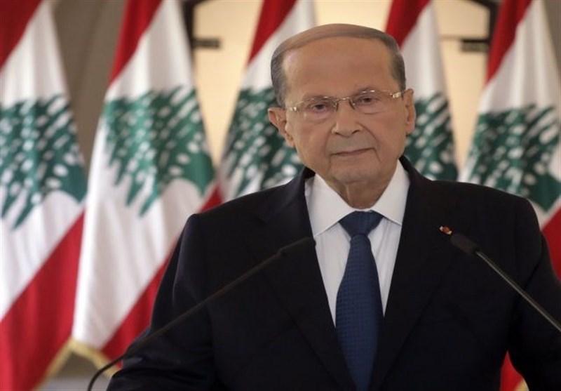 لبنان|تشکر عون از دیاب؛ درخواست برای ادامه فعالیت تا تشکیل دولت جدید+عکس