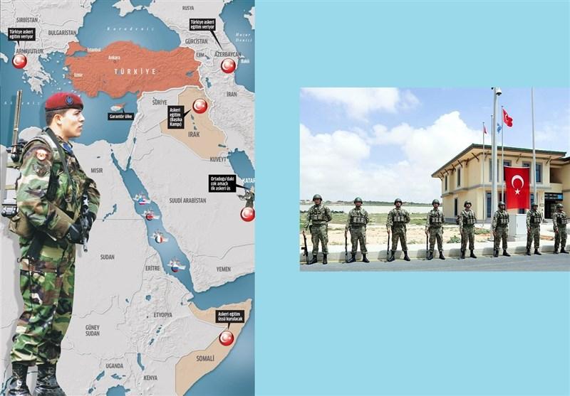 گزارش| نظامیان ترکیه در دهههای گذشته به چه کشورهایی اعزام شدهاند؟