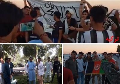 تهران| عاملان انتشار عکسهای تجمع حامیان طالبان بازداشت شدند