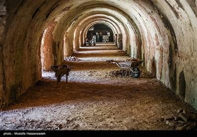 کارخانه تولید آجر در روستای فیض آباد گرگان