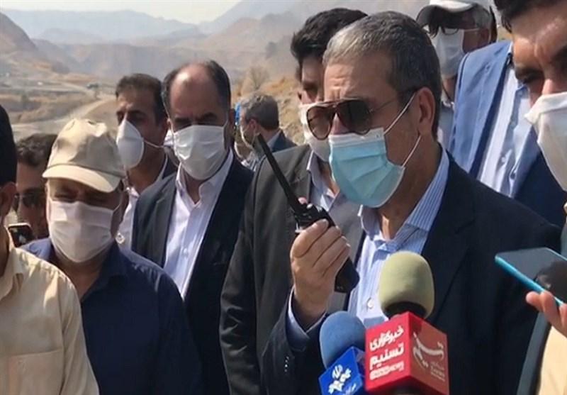 """تونلهای انحراف آب """"سد دالکی"""" استان بوشهر افتتاح شد"""