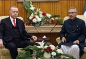 اردوغان در تماس با رئیس جمهور پاکستان مجددا بر حمایت از مسلمانان کشمیر تاکید کرد