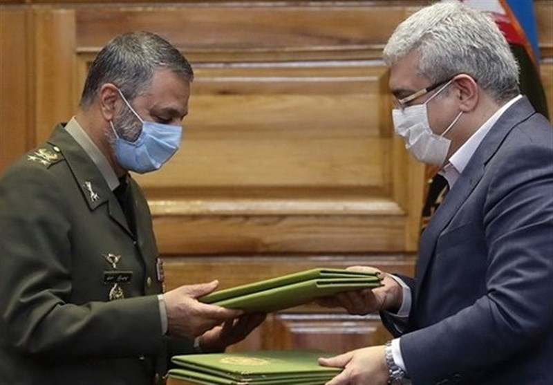 Iran's Army, Vice-Presidency for Science Ink MoU