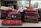کسادی بازار سنتی فرش همدان در سایه کرونا