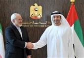 تأکید وزرای خارجه ایران و امارات بر آمادگی برای توسعه همکاریها