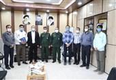 دفتر بسیج رسانه در شهرستان آبادان با حضور مسئولان افتتاح شد+ تصاویر