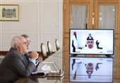 تاکید ظریف بر ادامه گفتگوی منطقهای بر مبنای ایده ابتکار صلح هرمز