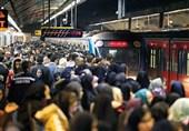 زنگ خطر شیوع شدید کرونا در مترو به صدا درآمد!