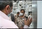 فرمانده لشکر عملیاتی 10 حضرت سیدالشهدا(ع) از منطقه ویژه اقتصادی پیام بازدید کرد