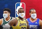 لیگ NBA|جریمه و اخراج در انتظار بازیکنانی که ماسک نمیزنند