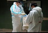جهاد شبانهروزی مدافعان سلامت در بیمارستان رازی اهواز به روایت تصاویر