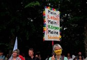 German Government Blasts 'Unacceptable' Virus Curb Abuses at Berlin Protests