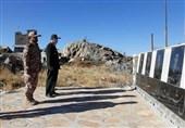 فرمانده سپاه کردستان به مقام شامخ شهدای انقلاب اسلامی در کامیاران ادای احترام کرد+تصاویر