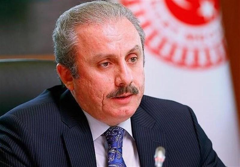 Turkish Speaker Voices Opposition to US Sanctions on Iran