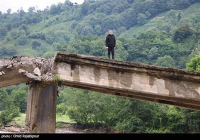 خسارات سیلاب و آبگرفتگی در گیلان