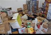 5 میلیارد ریال موادغذایی قاچاق در کرمان کشف شد + تصاویر