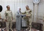 امام جمعه مریوان با حکم فرمانده مرزبانی کشور مرزیار افتخاری شد