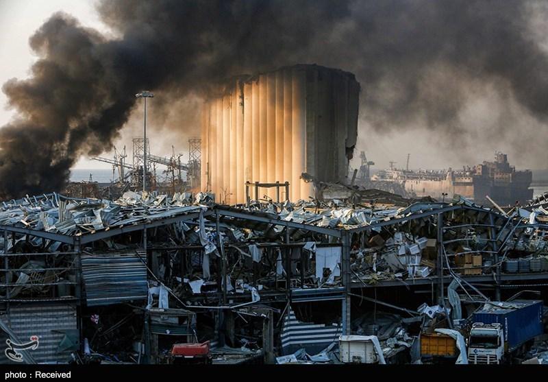 بیروت دھماکے ۔ ۔ حادثہ یا اسرائیلی حملہ!