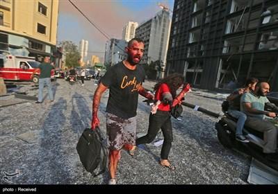 بیروت؛ پاکستانی سفارتخانے کو بھی معمولی نقصان