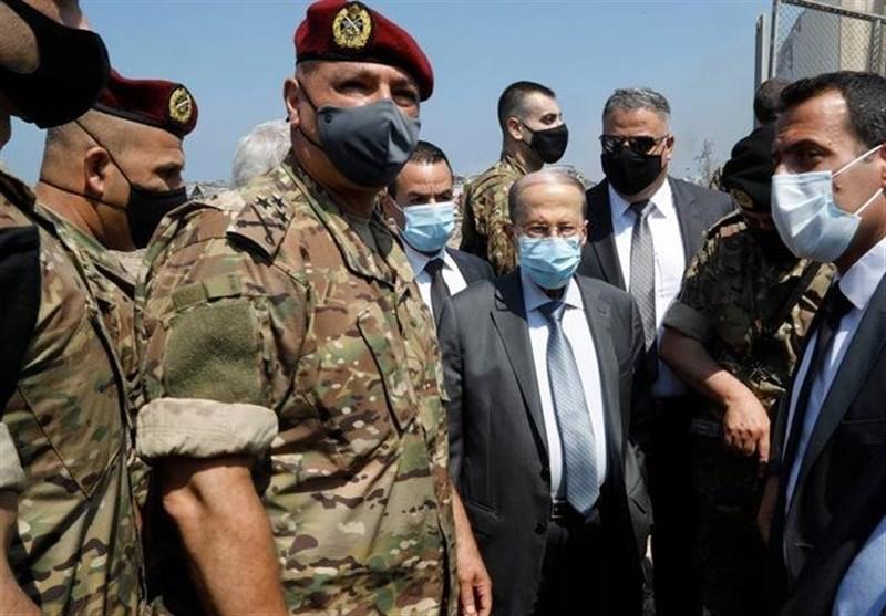 لبنان| بازدید میشل عون از مناطق آسیبدیده انفجار بیروت