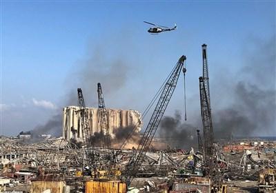 لحظه به لحظه با لبنان|همبستگی محور مقاومت با مصیبتدیدگان/ اردوکشی غربگرایان در بهرهبرداری سیاسی از انفجار بیروت