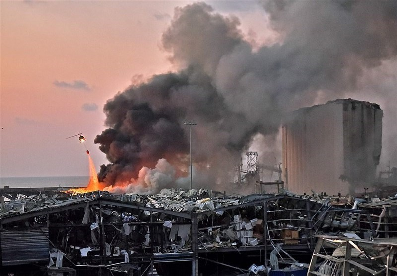 فیلم// لحظه انفجار مهیب بیروت را از 7 زاویه ببینید
