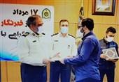 فرمانده نیروی انتظامی استان البرز از خبرنگاران تقدیرکرد