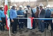نخستین خط تولید لولههای جریانی صنعت نفت در خوزستان افتتاح شد
