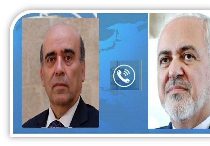 ظریف یغرد عقب محادثاته الهاتفیة مع نظیره اللبنانی