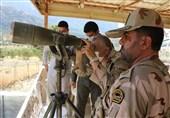 بازدید فرمانده مرزبانی ناجا از مرزهای کردستان بهروایت تصویر