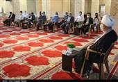 دیدار نماینده ولی فقیه در استان قزوین با جمعی از مدیران و خبرنگاران + تصاویر