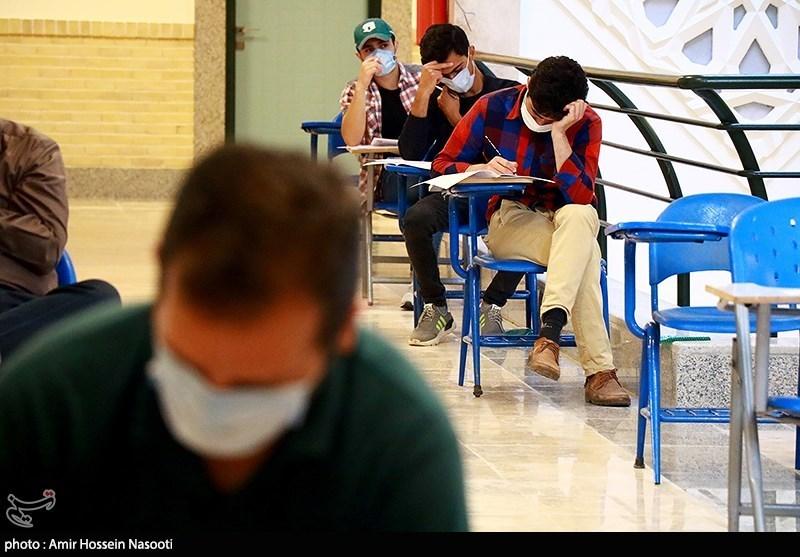 رعایت 80 درصدی پروتکلهای بهداشتی در حوزههای امتحانی کنکور ارشد