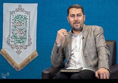 شعرخوانی احمد بابایی در محفل «همای رحمت» به مناسبت عید غدیر خم