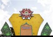 مراسم رونمایی از نشان فداکاری به دانشگاه افسری امام علی (ع)