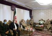 دیدار فرمانده مرزبانی ناجا با اعضای شورای تأمین کردستان به روایت تصویر