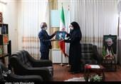 مدیرکل محیط زیست کرمان از دفتر استانی تسنیم بازدید کرد + تصاویر