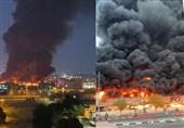 علت آتش سوزی در بازار «عجمان» امارات مشخص شد