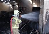 """آتشسوزی در """"پردیس 1"""" کیش / بخشی از این بازار تخریب شد"""