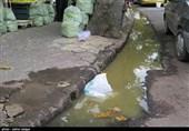 """""""زباله"""" مهمان ناخوانده خیابانهای شهر رشت+ تصاویر"""