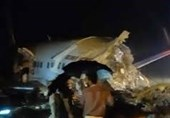 خروج هواپیمای هندی از باند فرودگاه 3 کشته و 35 زخمی بر جای گذاشت