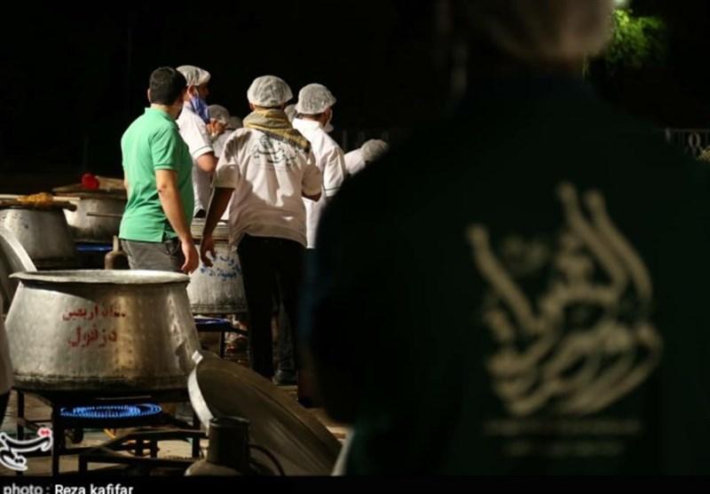 """طرح """"ضیافت غدیر"""" با طبخ 34 هزار پرس غذای نذری در دزفول اجرا شد+تصاویر"""