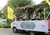 کارناوال شادی در محروم ترین محلههای مناطق تهران همزمان با عید غدیر+ تصاویر