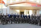 بازدید رئیس پلیس ترکیه از اعزاز سوریه