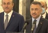 معاون اردوغان پس از دیدار با میشل عون: بندر مرسین ترکیه آماده خدمت به لبنان است