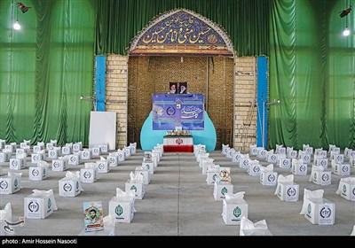 مرحله دوم رزمایش سراسری کمک مومنانه در زنجان
