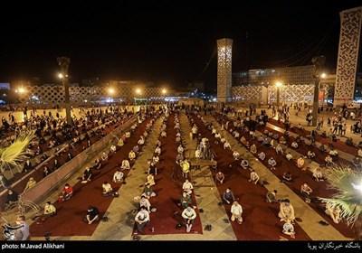 مراسم جشن عید غدیر در میدان امام حسین (ع)