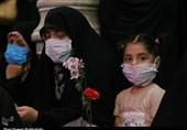 مراسم جشن عید غدیر خم در حرم حضرت معصومه(س) از قاب دوربین